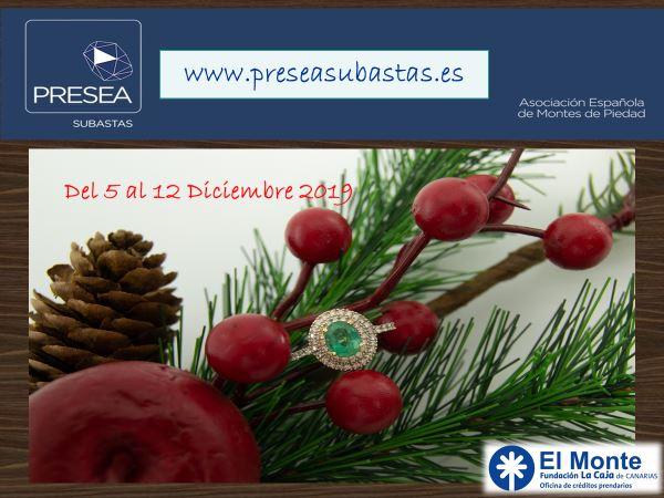 Monte Piedad Caja Canarias - subasta diciembre 2019