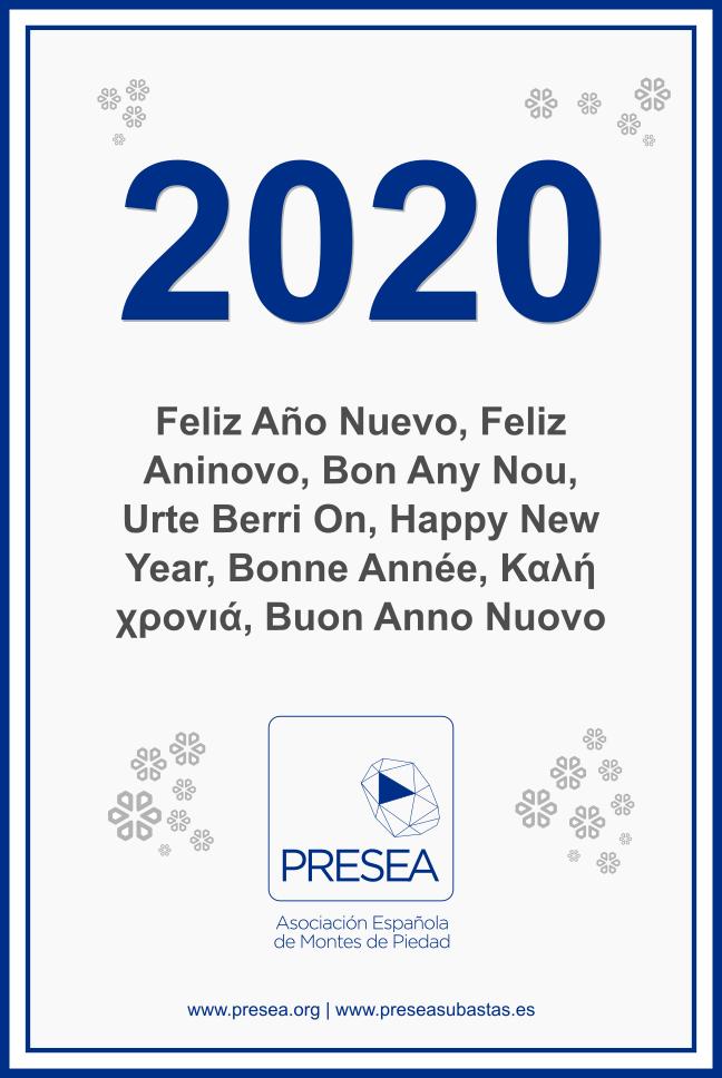 Presea - Felicitación navideña 2019