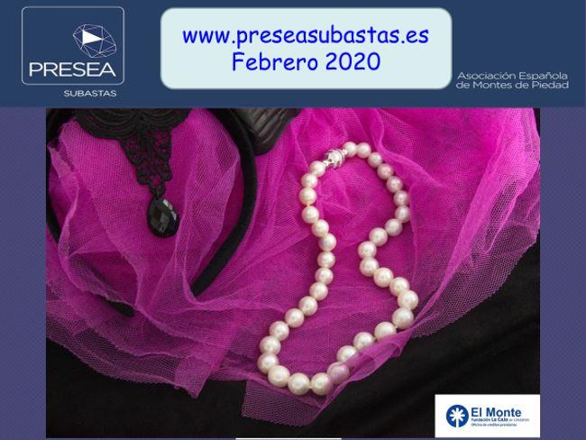 Monte de piedad La Caja de Canarias - Subasta de febrero 2020