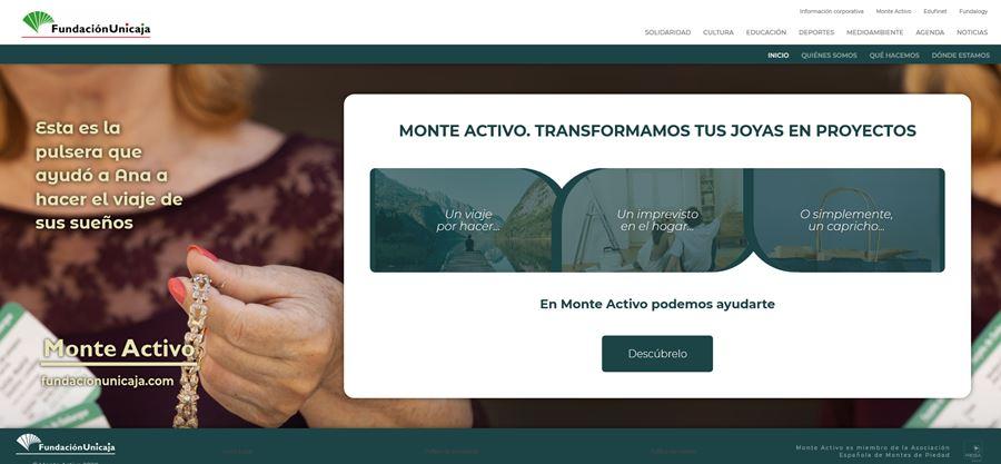 Monte Activo - Página web