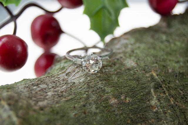 La Caja de Canarias - Sortija diamante subasta diciembre 2020