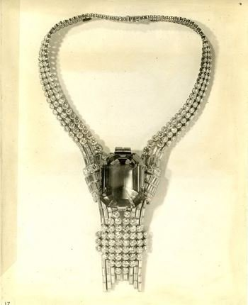 Tiffany - Collar Expo Universal Nueva York 1939