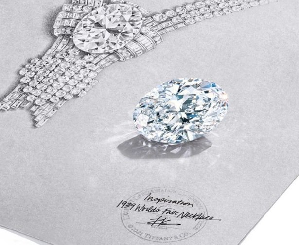 Tiffany - Collar diamante oval 2020