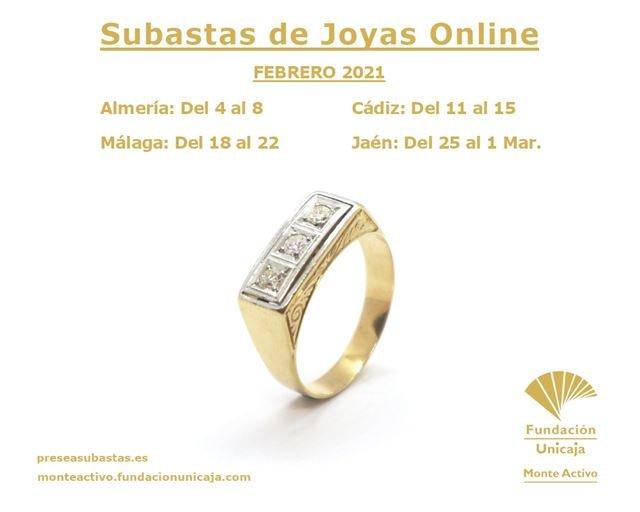 Monte Activo - Subastas online de joyas en preseasubastas.es - Febrero de 2021