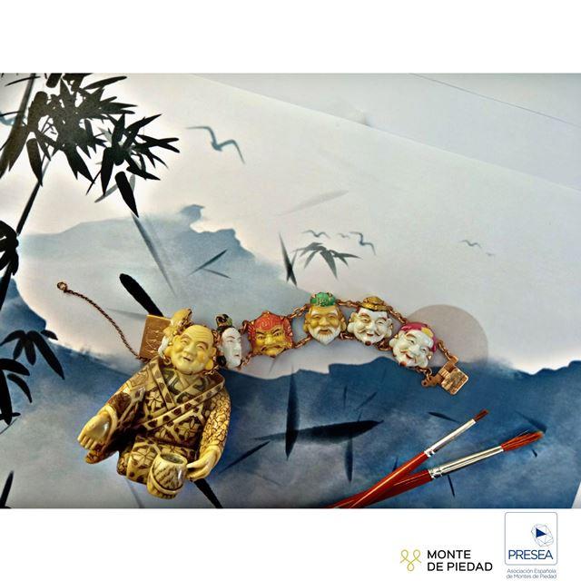 Subasta 2021_02 Monte de Piedad Valencia pulsera estilo oriental - Fundación Bancaja