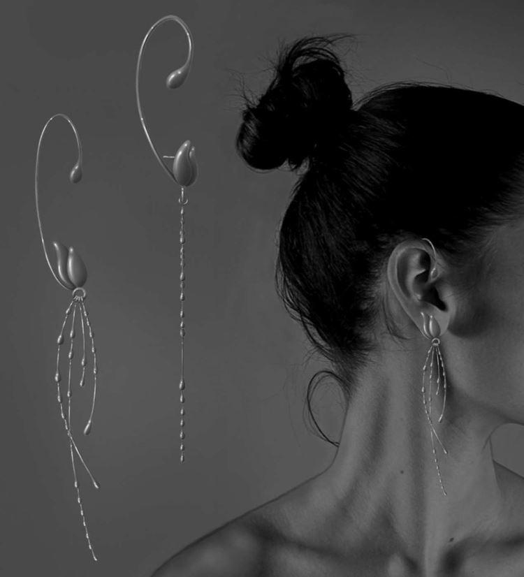 Platinum Design DNA Awards 2020 - Aditi Sabavala - Pendientes