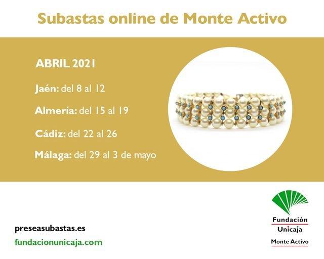 Monte Activo - Subastas online de joyas abril 2021