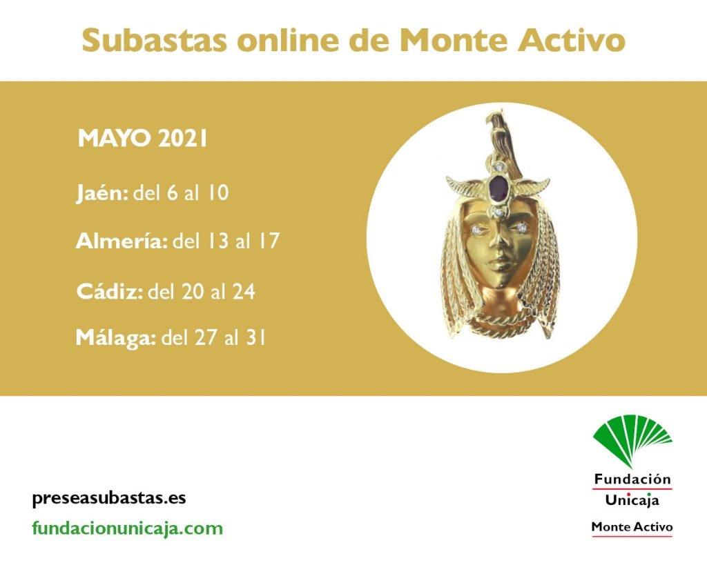 Monte Activo - Subastas online de joyas mayo 2021