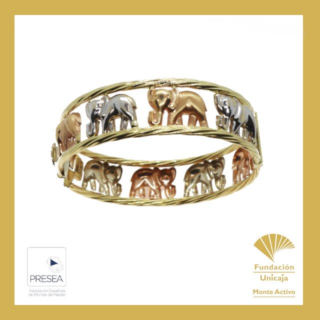 Monte Activo - Subastas online de joyas mayo 2021 Cádiz - Anillo elefantes oro