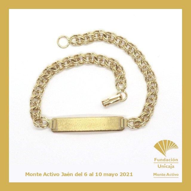 Monte Activo - Subastas online de joyas mayo 2021 Jaén - Esclava oro