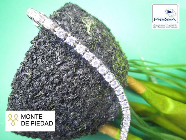 Subasta online de joyería mayo 2021 - Monte de Piedad Fundación Bancaja - Pulsera brillantes