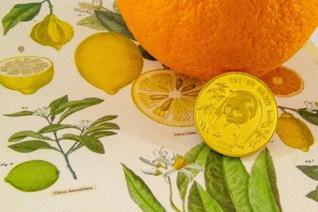 Monte de Piedad La Caja de Canarias - Subasta online de joyas junio 2021 - Moneda oro