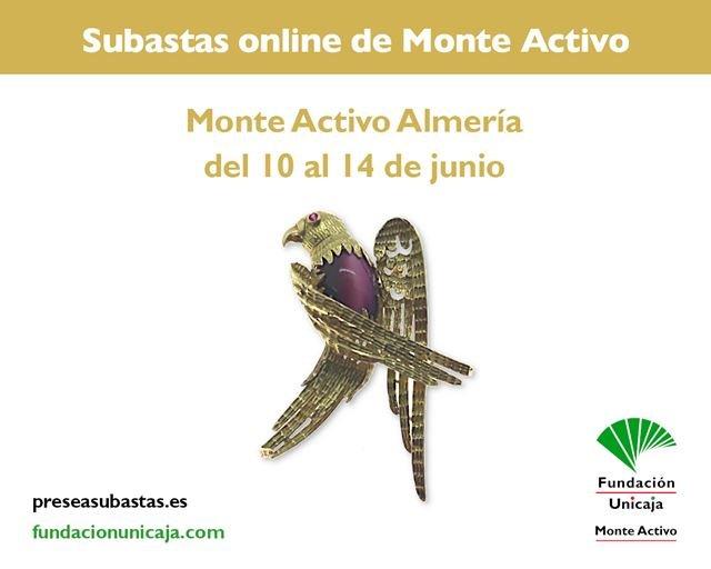 Monte Activo - Subastas online de joyas junio 2021 Almería