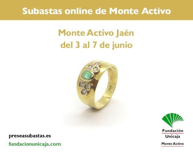 Monte Activo - Subastas online de joyas junio 2021 Jaén