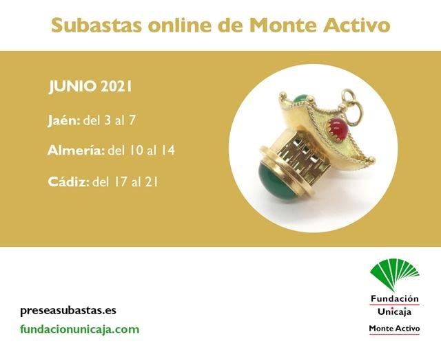 Monte Activo - Subastas online de joyas junio 2021