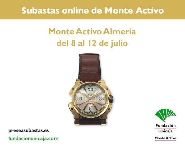 Subastas online de joyas julio 2021 - Monte Activo Almería