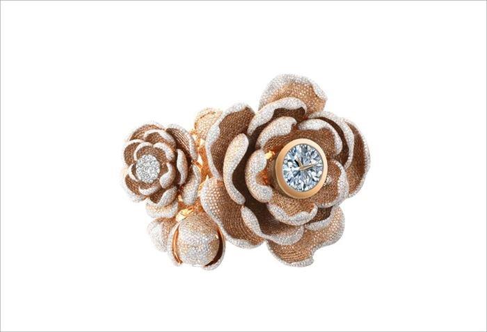 Reloj Mudan por Coronet - Récord Guinnes de diamantes engastados